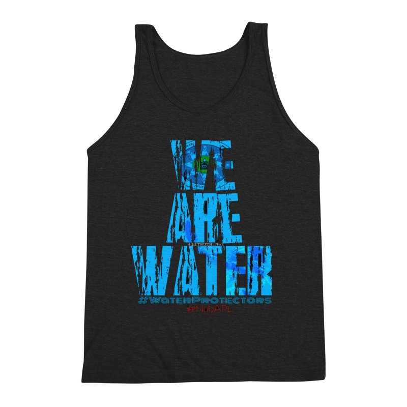 we are water Men's Triblend Tank by Online Store