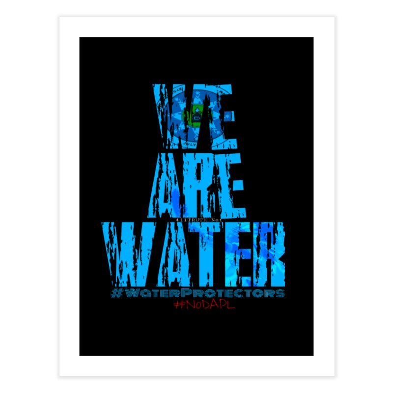 we are water Home Throw Pillow by Online Store