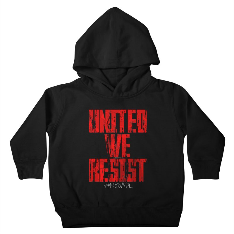 united we resist Kids Toddler Pullover Hoody by Online Store