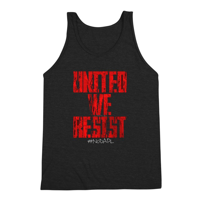 united we resist Men's Triblend Tank by Online Store