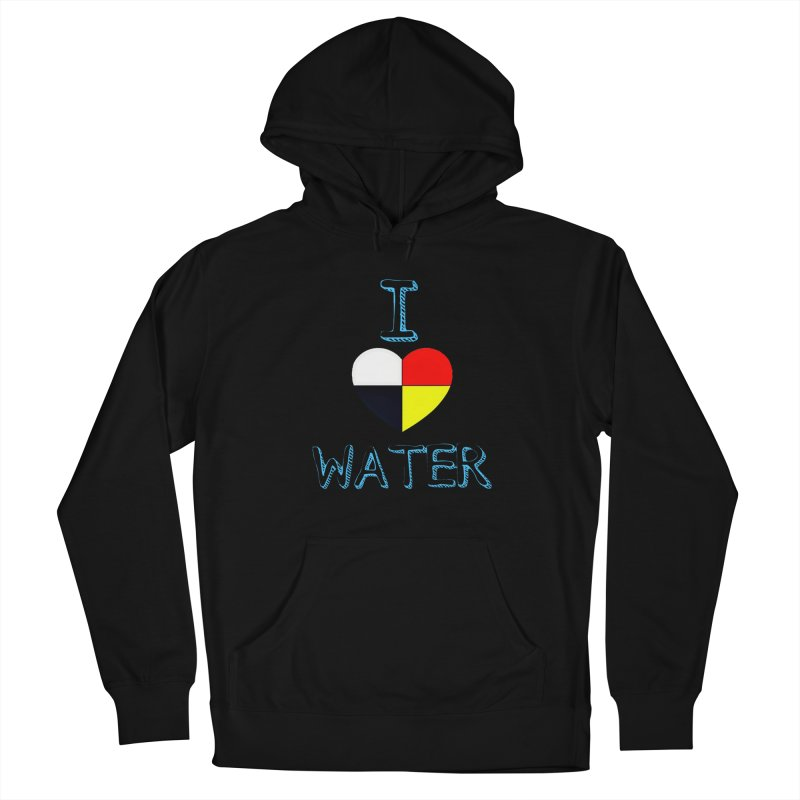 I love Water Women's Pullover Hoody by Online Store