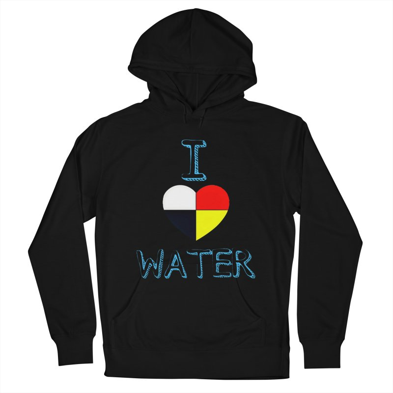 I love Water Women's French Terry Pullover Hoody by Online Store