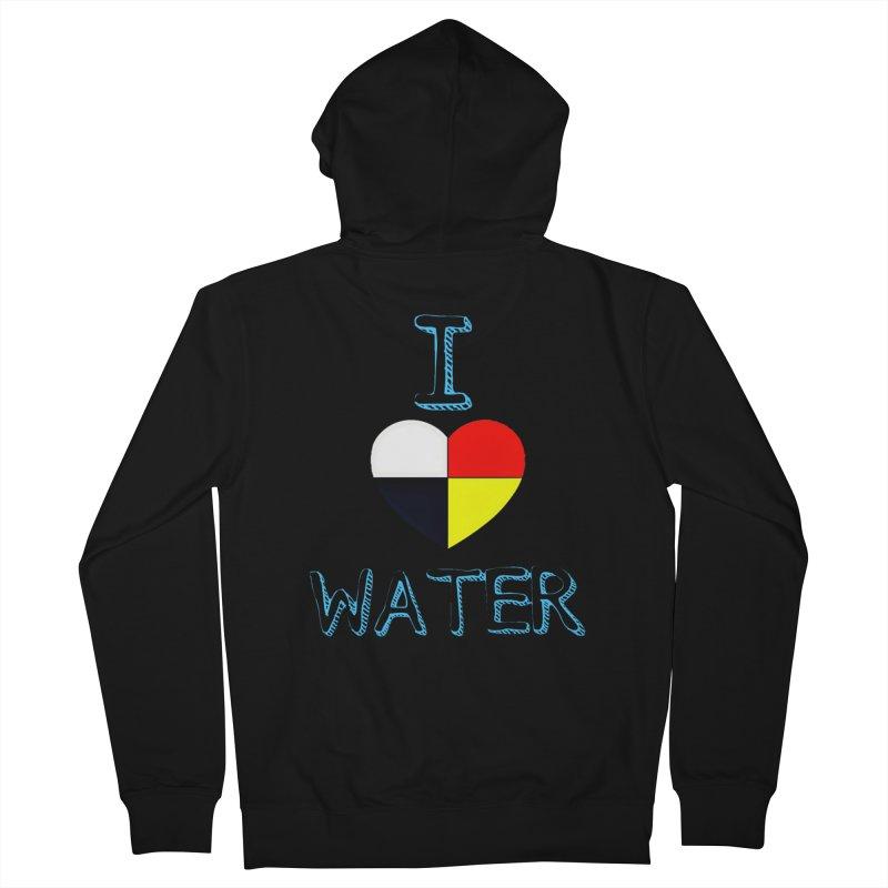 I love Water Women's Zip-Up Hoody by Online Store