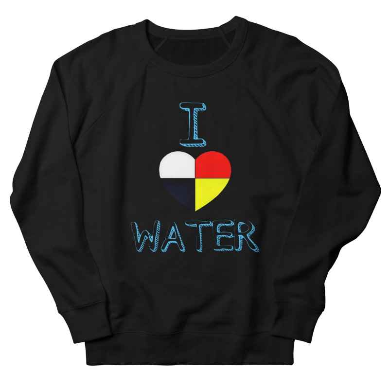I love Water Men's French Terry Sweatshirt by Online Store
