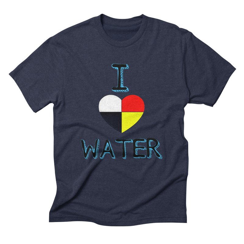 I love Water Men's Triblend T-Shirt by Online Store