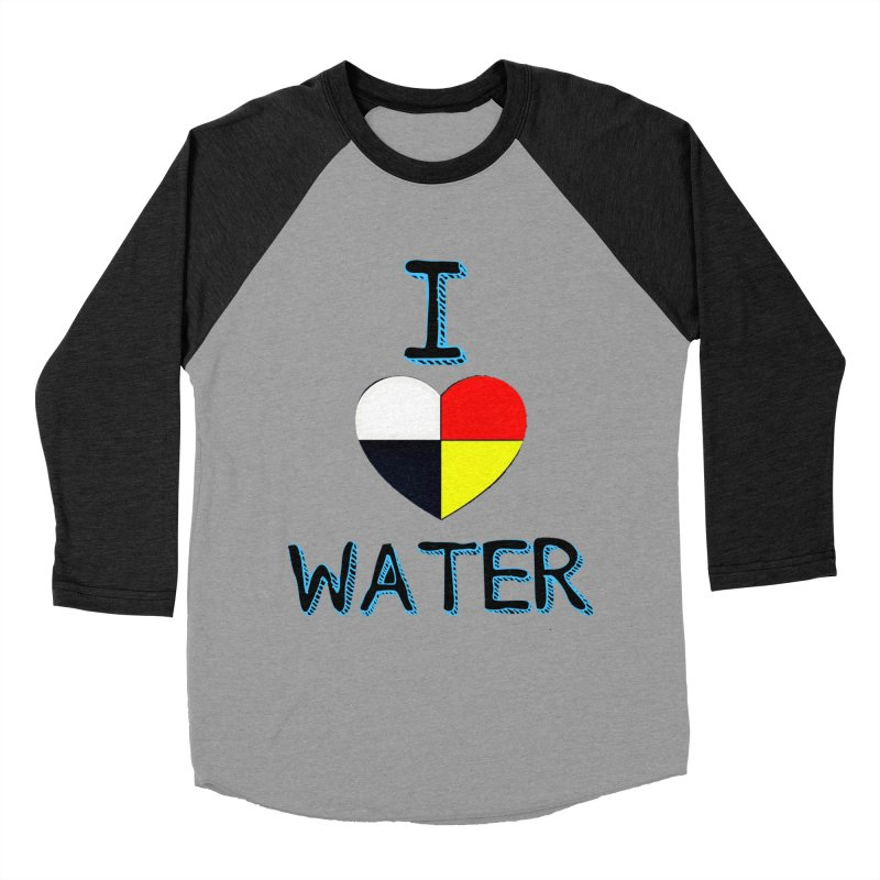 I love Water Women's Baseball Triblend T-Shirt by Online Store
