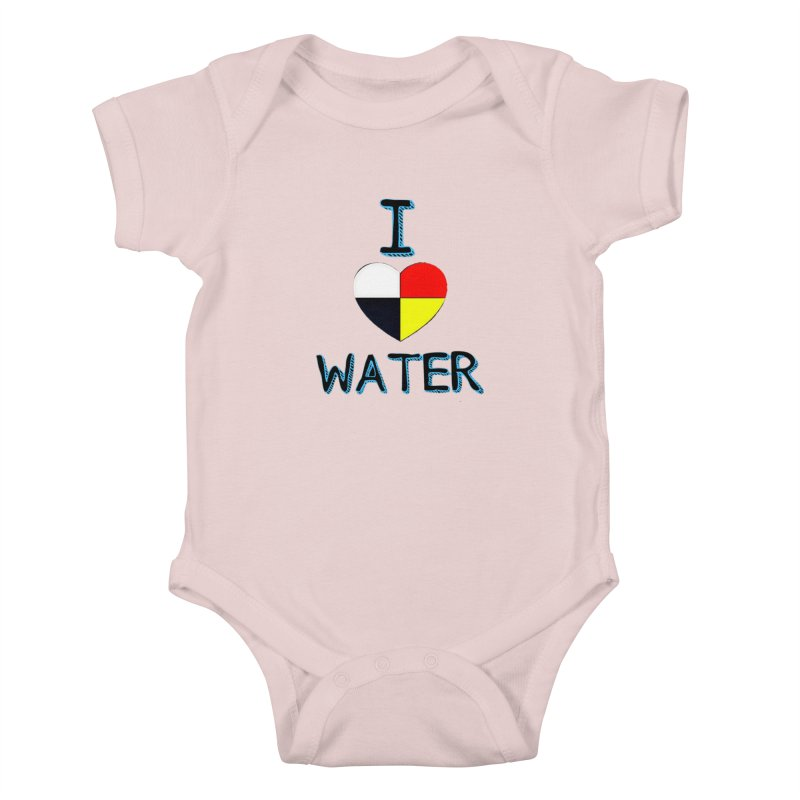 I love Water Kids Baby Bodysuit by Online Store