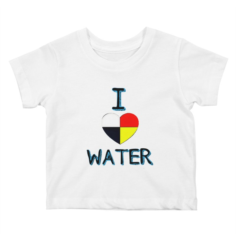 I love Water Kids Baby T-Shirt by Online Store