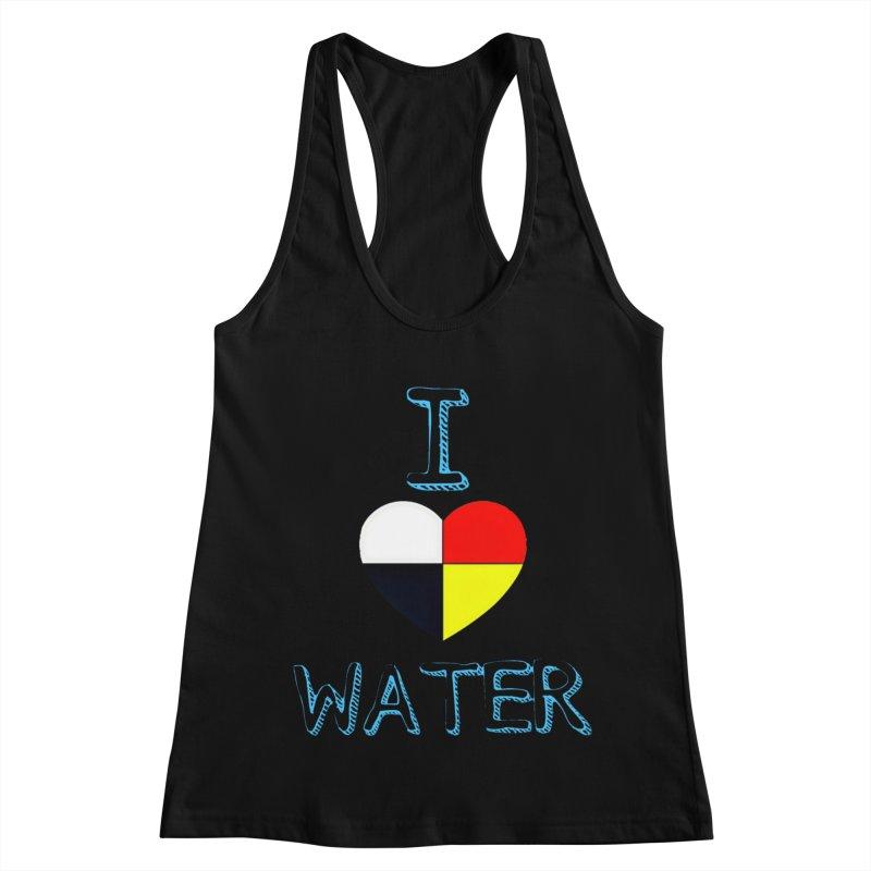 I love Water Women's Racerback Tank by Online Store