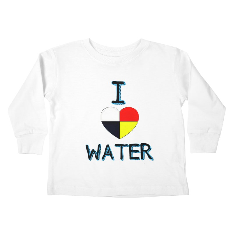 I love Water Kids Toddler Longsleeve T-Shirt by Online Store