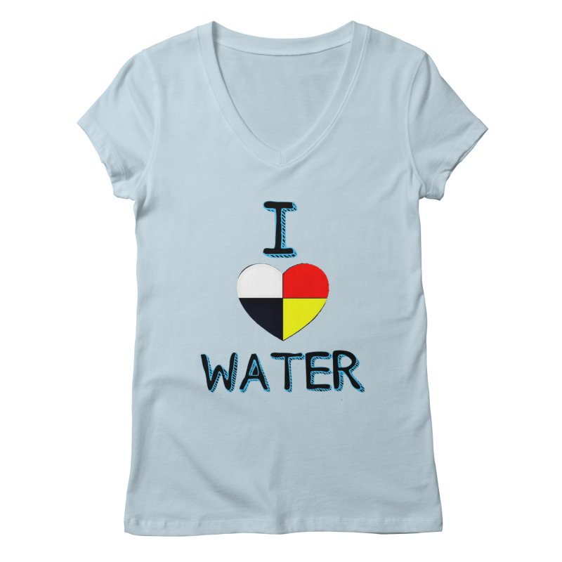 I love Water Women's V-Neck by Online Store