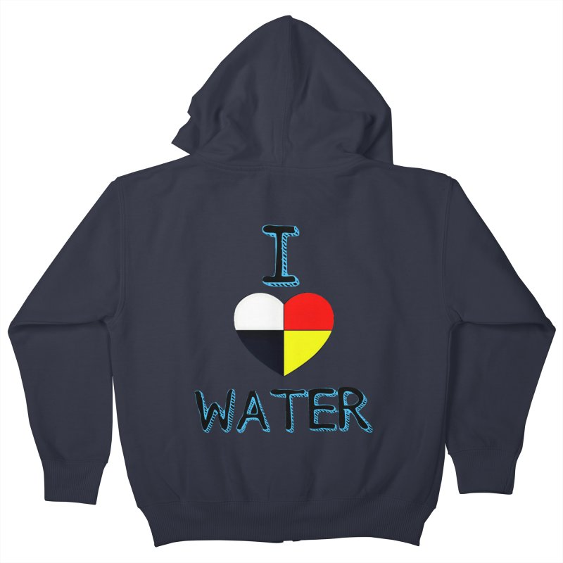 I love Water Kids Zip-Up Hoody by Online Store