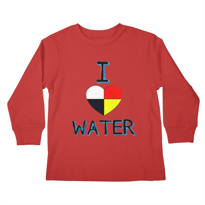 I love Water Kids Longsleeve T-Shirt by Online Store