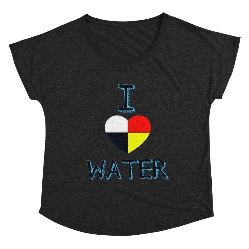 I love Water Women's Scoop Neck by Online Store