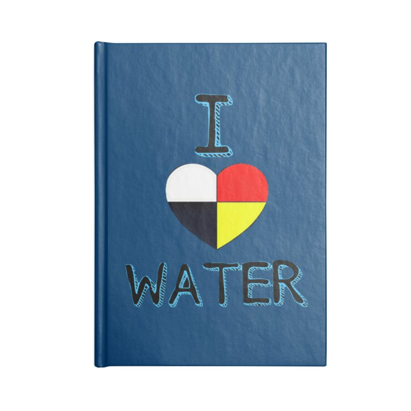 I love Water Accessories Blank Journal Notebook by Online Store