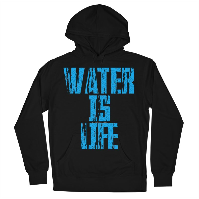 water is life Women's French Terry Pullover Hoody by Online Store