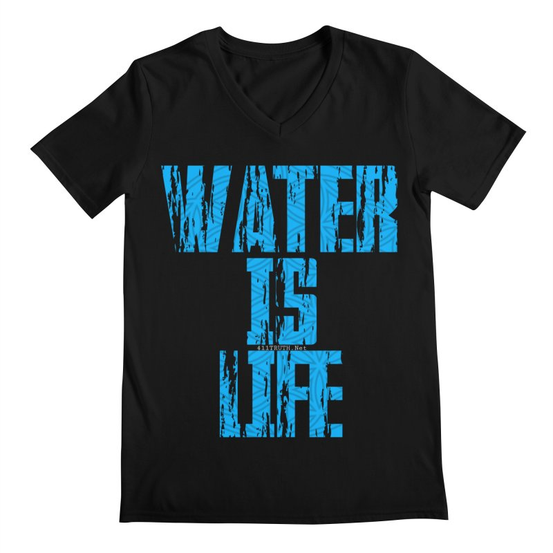 water is life Men's Regular V-Neck by Online Store