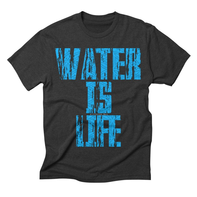 water is life Men's Triblend T-shirt by Online Store