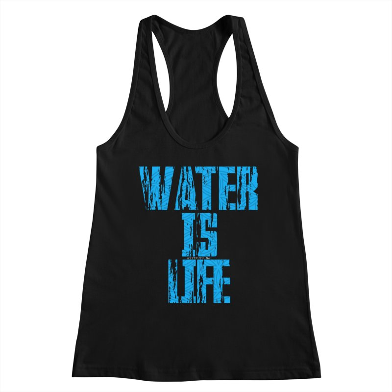 water is life Women's Tank by Online Store