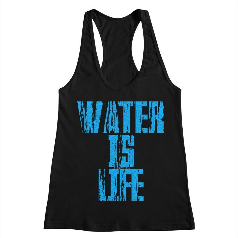 water is life Women's Racerback Tank by Online Store