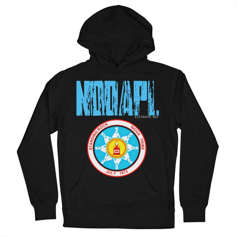 NoDAPL  Women's French Terry Pullover Hoody by Online Store