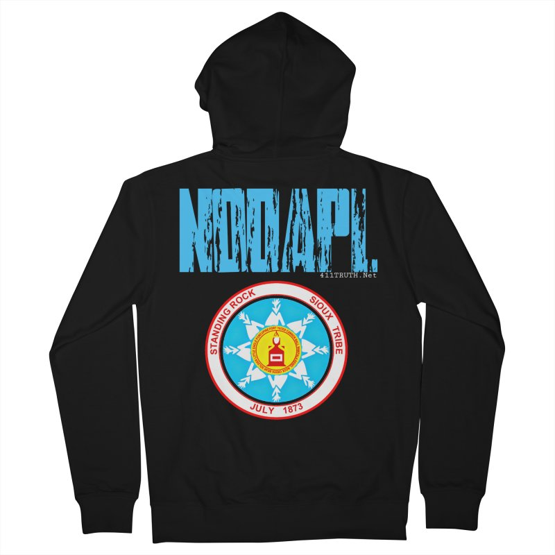 NoDAPL  Women's French Terry Zip-Up Hoody by Online Store