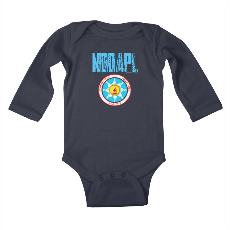 NoDAPL  Kids Baby Longsleeve Bodysuit by Online Store