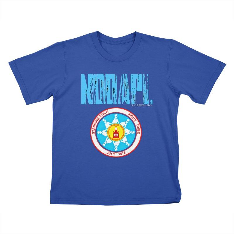 NoDAPL  Kids T-Shirt by Online Store
