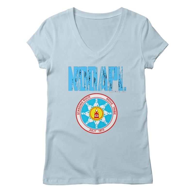 NoDAPL  Women's V-Neck by Online Store
