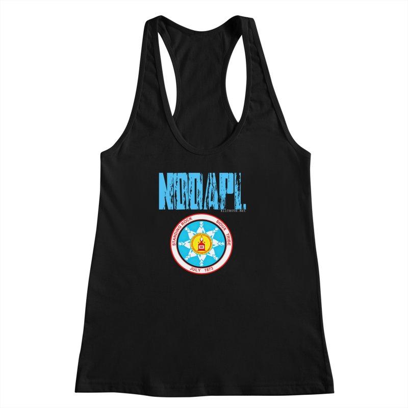 NoDAPL  Women's Racerback Tank by Online Store