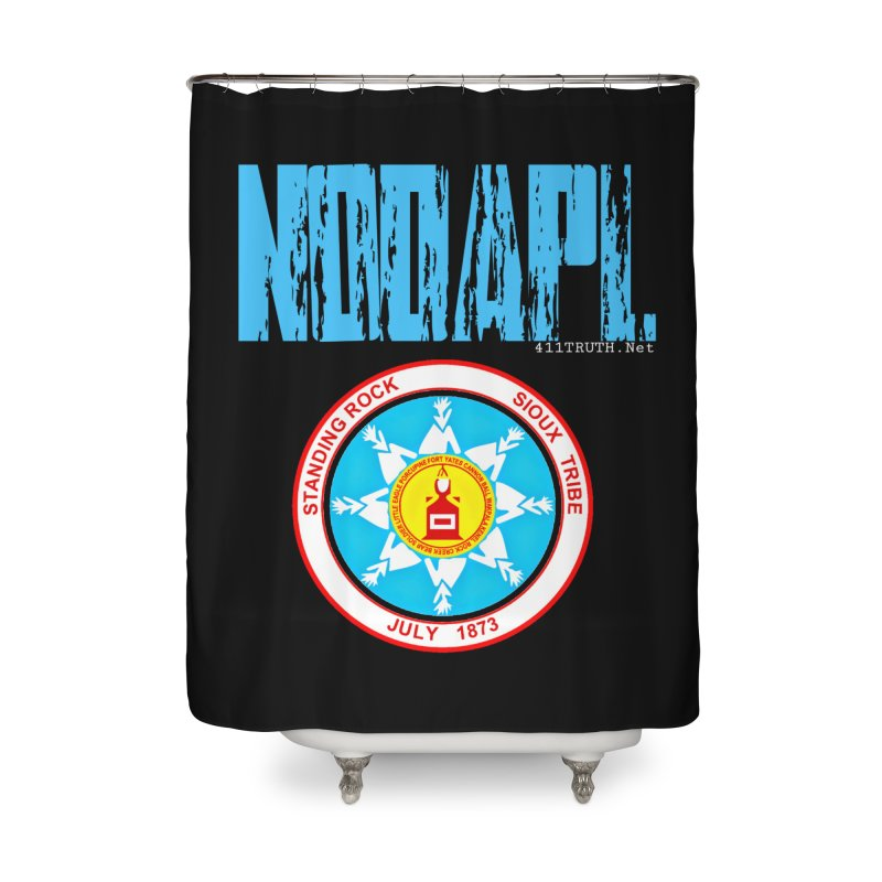 NoDAPL  Home Shower Curtain by Online Store
