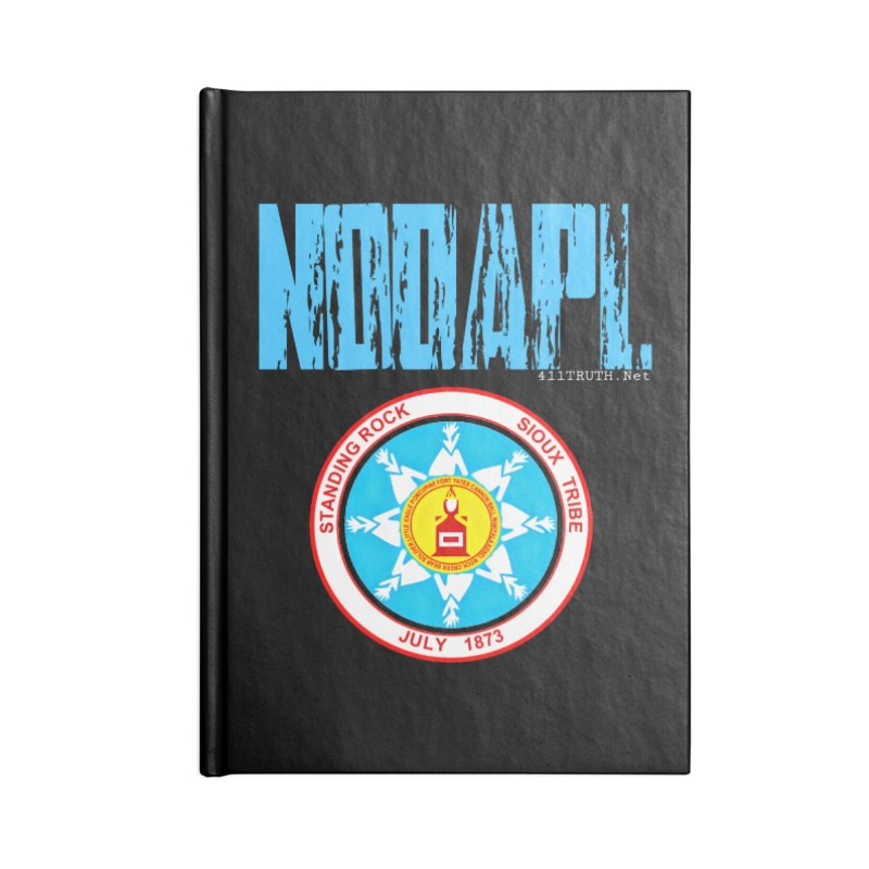 NoDAPL  Accessories Lined Journal Notebook by Online Store