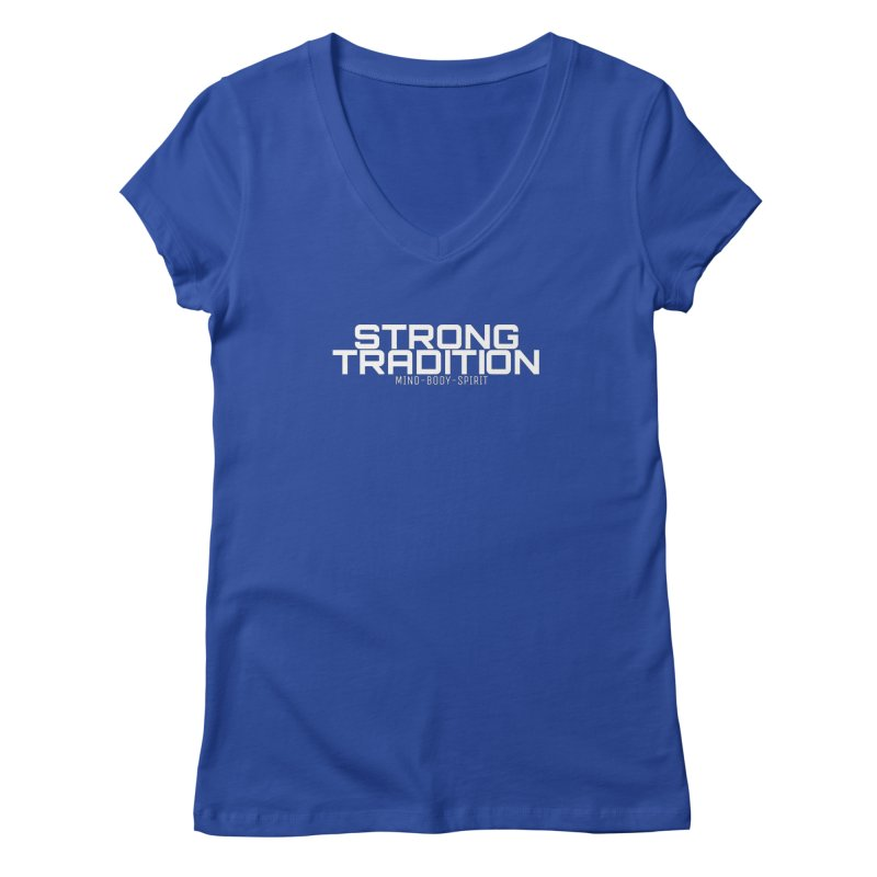 STRONG TRADITION Women's V-Neck by Online Store