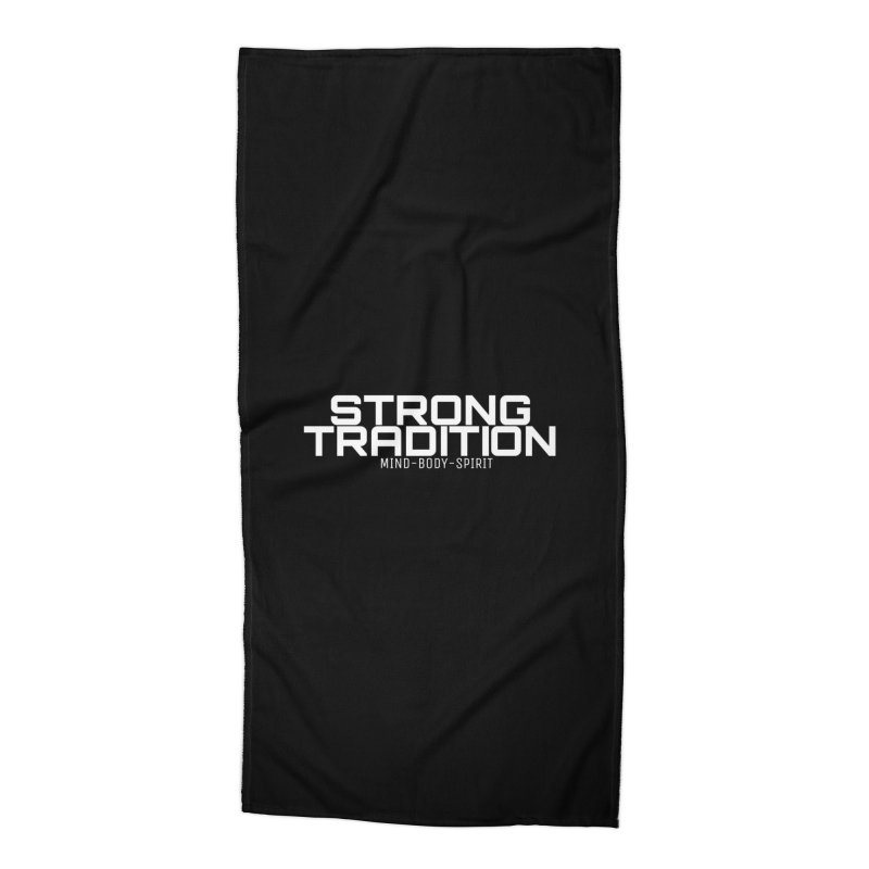 STRONG TRADITION in Beach Towel by Online Store