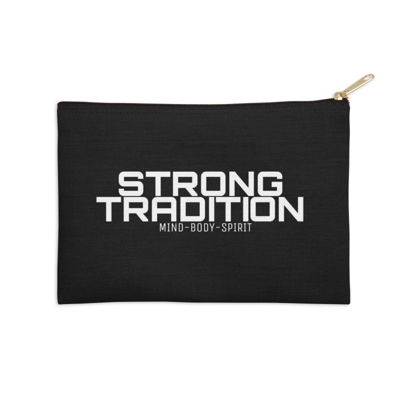 STRONG TRADITION Accessories Zip Pouch by Online Store