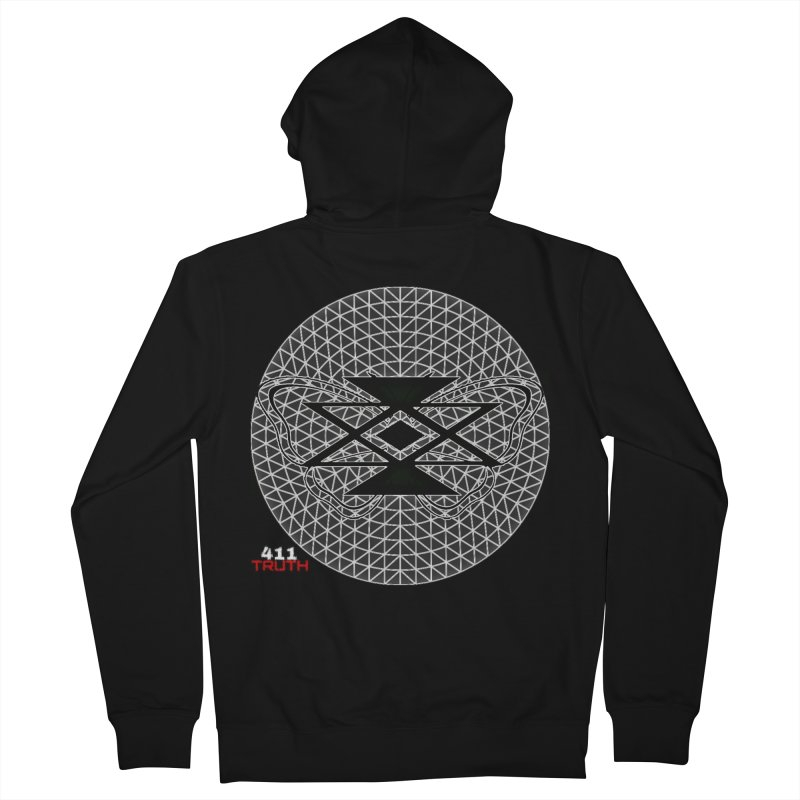 411TRUTH LOGO Men's Zip-Up Hoody by Online Store