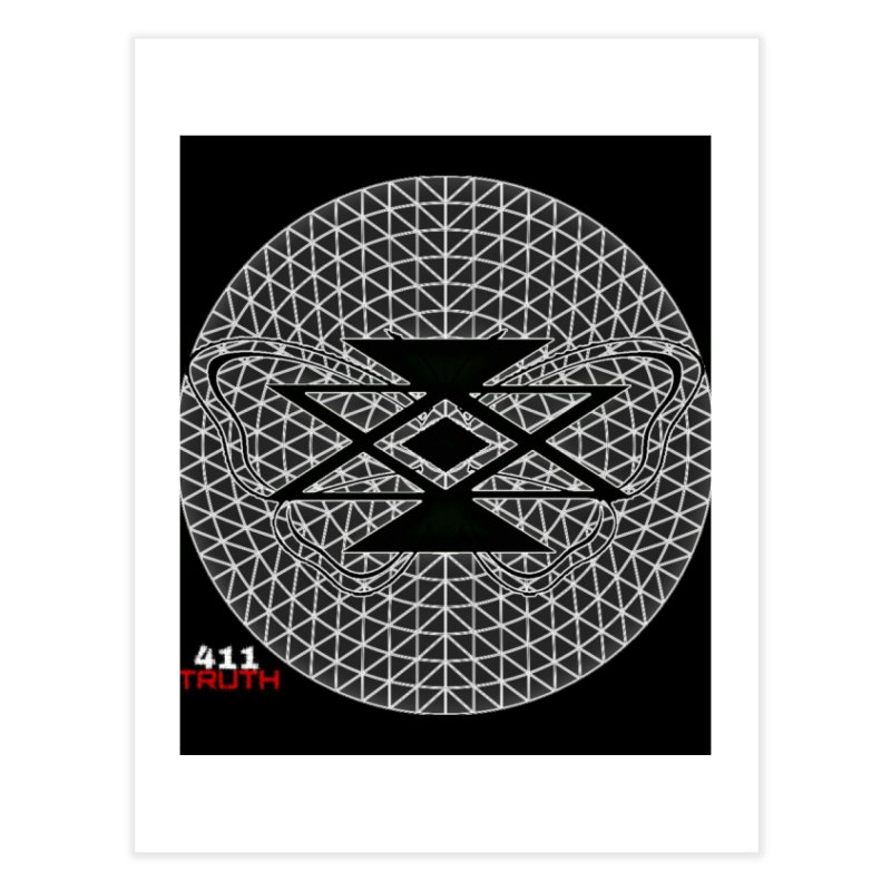 411TRUTH LOGO Home Fine Art Print by Online Store
