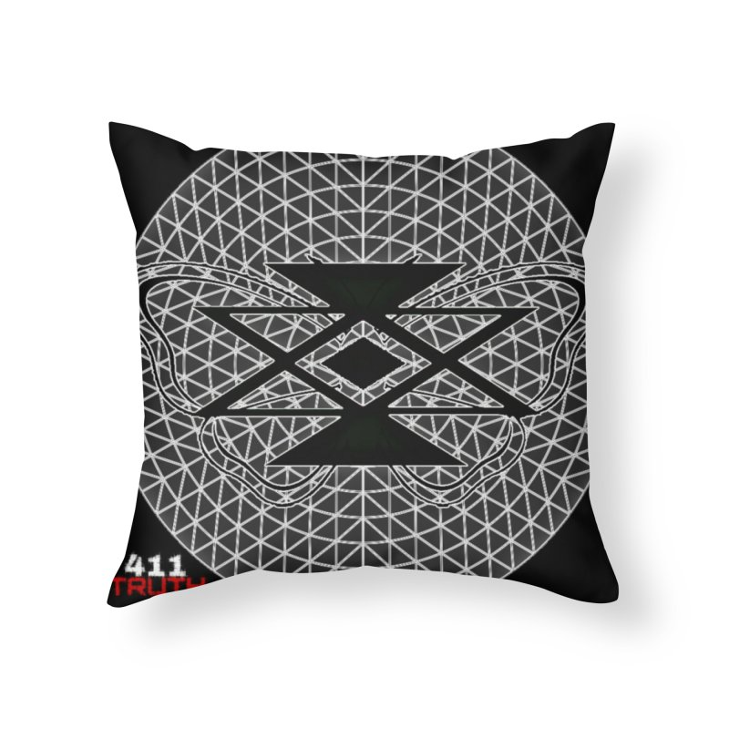411TRUTH LOGO Home Throw Pillow by Online Store