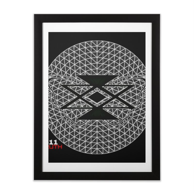 411TRUTH LOGO Home Framed Fine Art Print by Online Store
