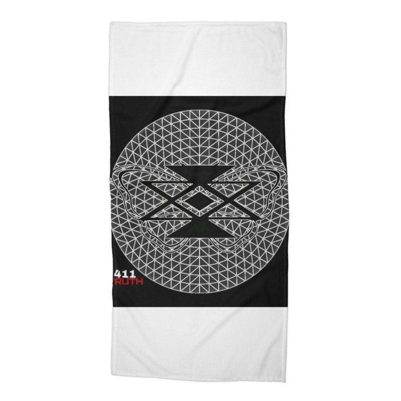 411TRUTH LOGO in Beach Towel by Online Store