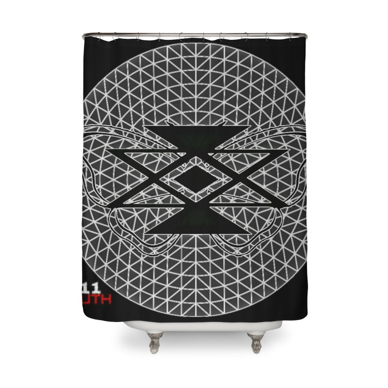 411TRUTH LOGO Home Shower Curtain by Online Store