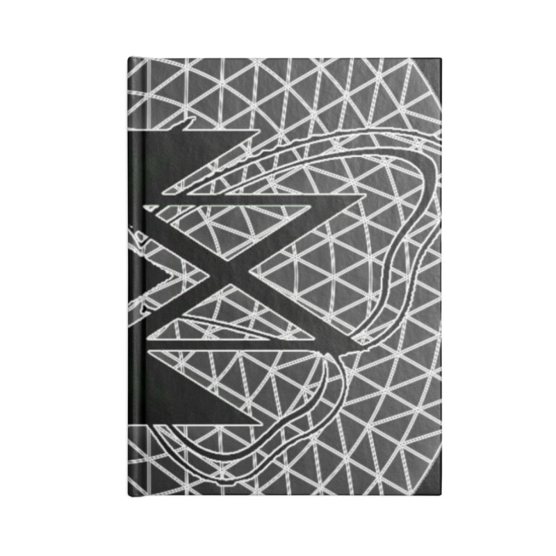 411TRUTH LOGO Accessories Lined Journal Notebook by Online Store