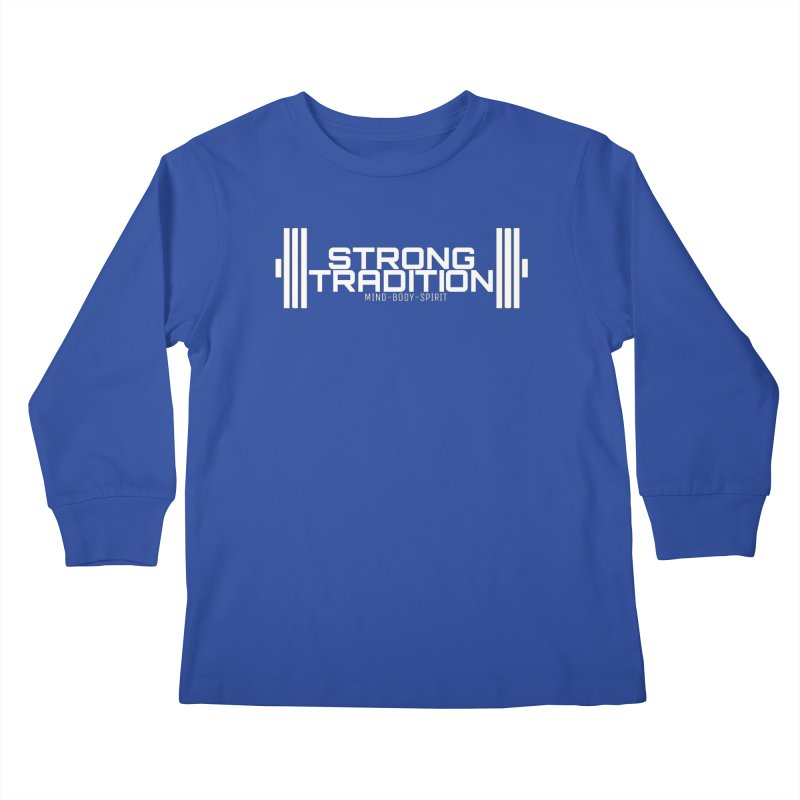 STRONG TRADITION  Kids Longsleeve T-Shirt by Online Store
