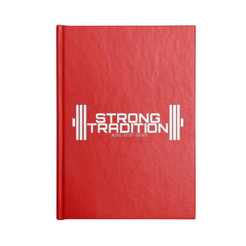 STRONG TRADITION  Accessories Blank Journal Notebook by Online Store