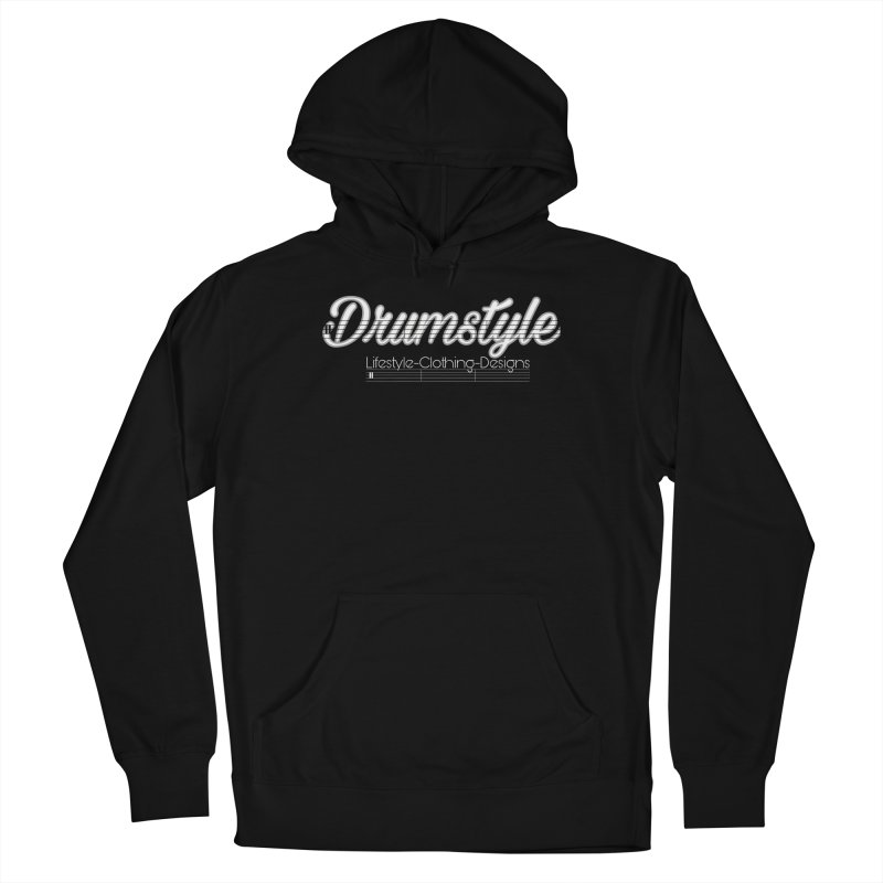 DRUMSTYLE LOGO Women's Pullover Hoody by Online Store