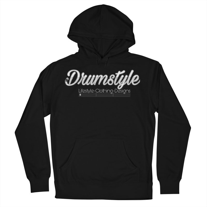 DRUMSTYLE LOGO Women's French Terry Pullover Hoody by Online Store