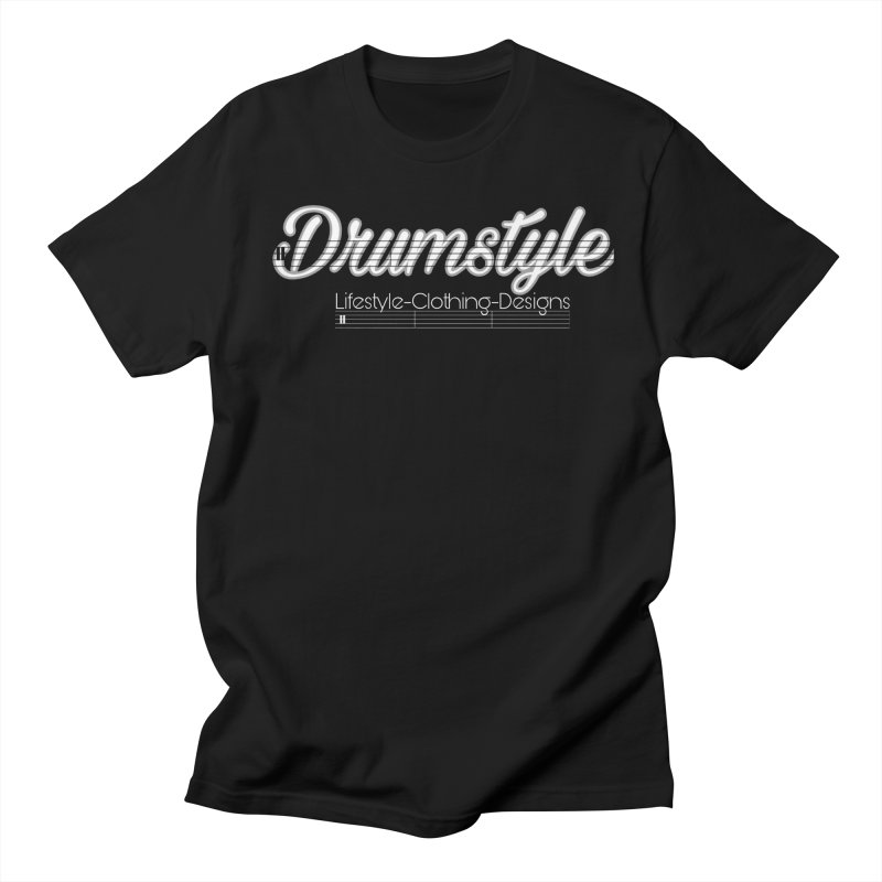 DRUMSTYLE LOGO Men's Regular T-Shirt by Online Store