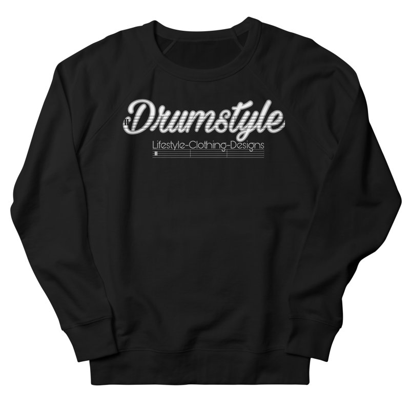 DRUMSTYLE LOGO Men's French Terry Sweatshirt by Online Store