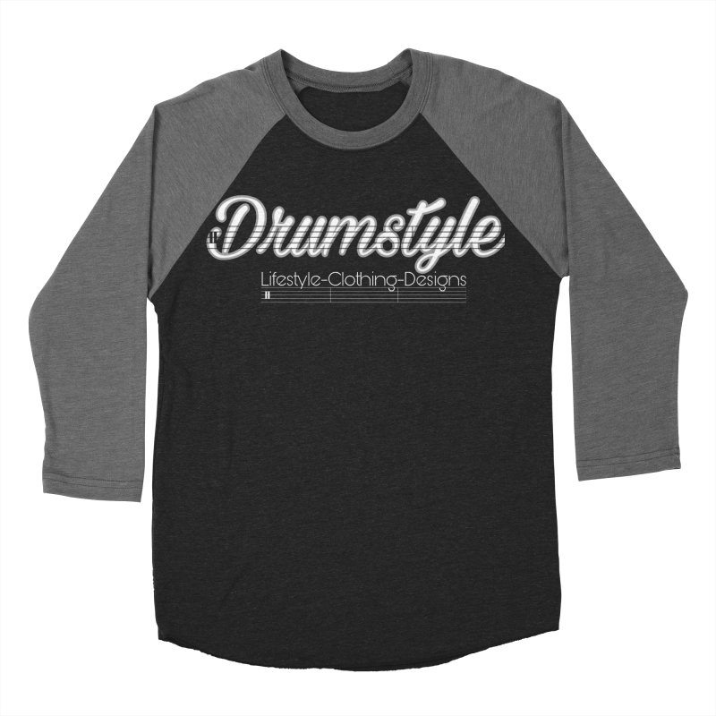 DRUMSTYLE LOGO Women's Baseball Triblend T-Shirt by Online Store