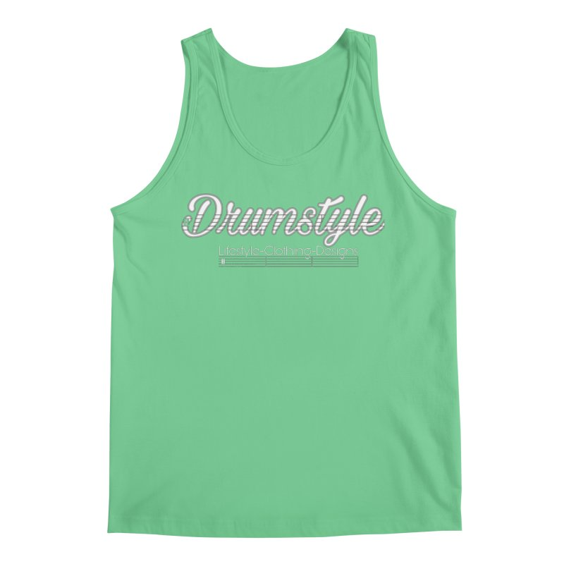 DRUMSTYLE LOGO Men's Regular Tank by Online Store